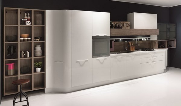 Современные кухонные гарнитуры Рими